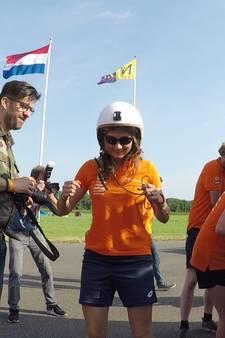Zwolse op recordjacht met zonnewagen in Lelystad