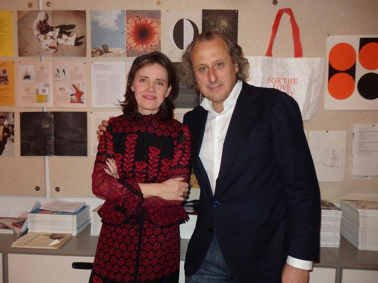 Galeriehouder/hoofdredacteur Nicole Ex: