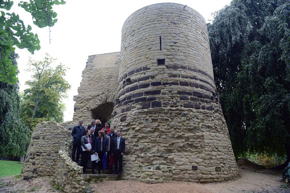De toren na restauratie.