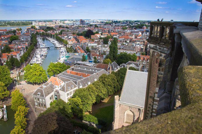 Uitzicht vanaf de Grote Kerk.