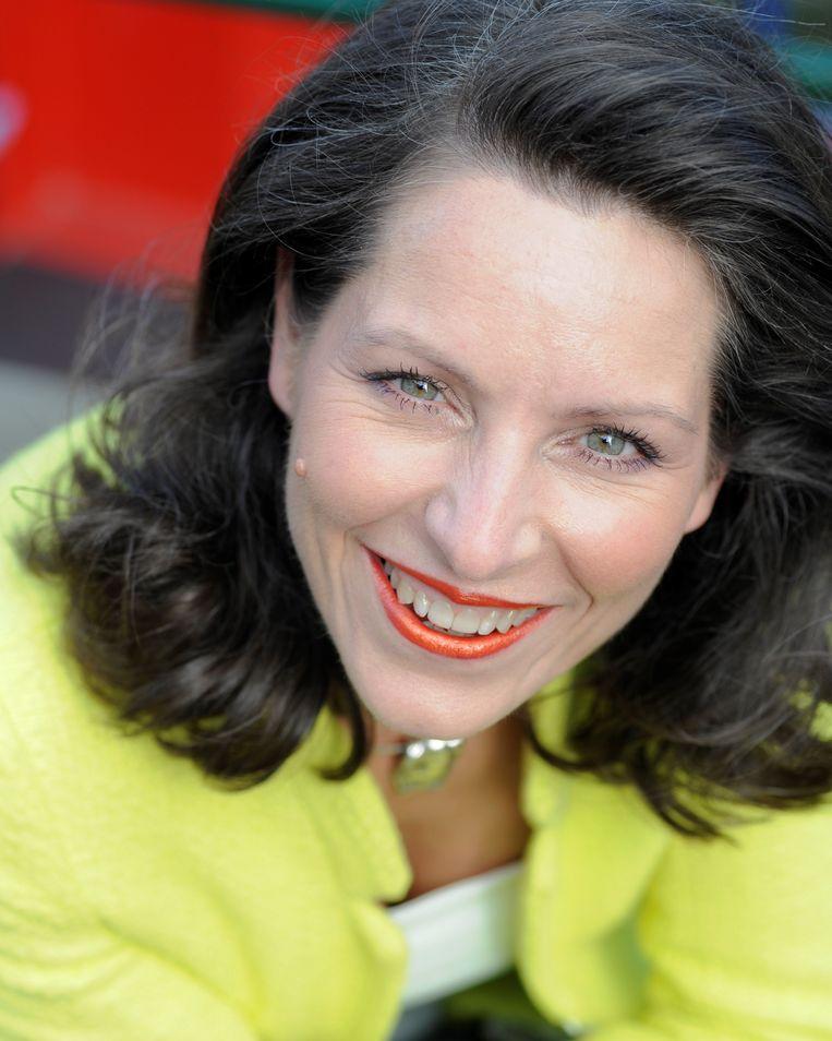Sara Van Wesenbeeck: 'De 25 procent mensen met de minste geldkennis bezitten 80.000 euro minder dan de 25 procent mensen met de meeste kennis van geld.' Beeld HUMO