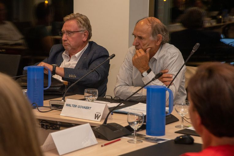Raadsleden Tony Van Heuverswyn en Walter Govaert (Open Vld)