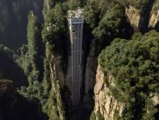 L'ascenseur extérieur le plus élevé du monde propose une vue époustouflante sur les paysages d'Avatar