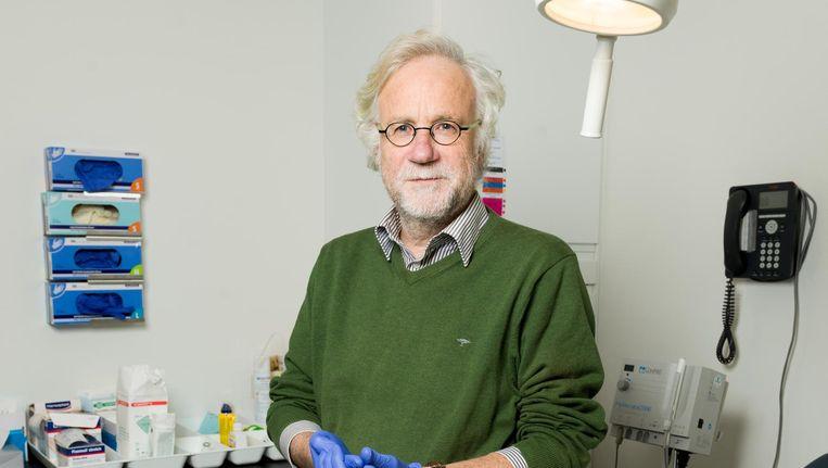 Huisarts Peter Vonk van Bureau Studentenartsen Beeld Ivo van der Bent
