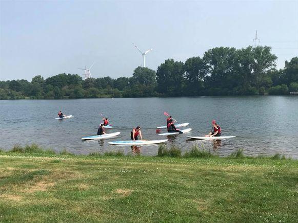 De G-watersportdag vindt plaats aan de Paalse Plas.