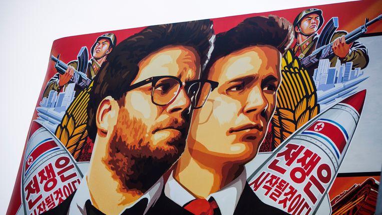 De informatie werd buitgemaakt door Noord-Koreaanse hackers die inbraken in de Sony-systemen na het verschijnen van de film The Interview Beeld AP