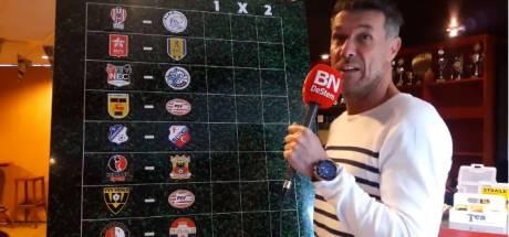 'Profeet' Henk Vos: 'Willem II moeilijk bespeelbaar, maar ga voor winst Feyenoord'