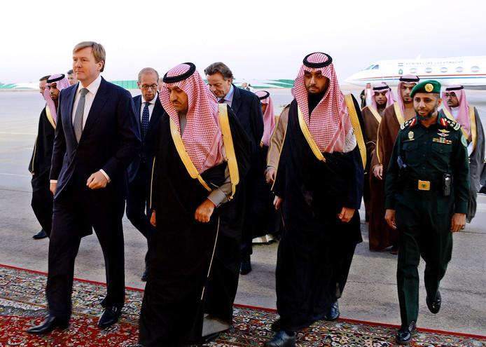 Toen drie jaar geleden de Saoedische koning Abdullah overleed, woonde koning Willem-Alexander de begrafenis bij