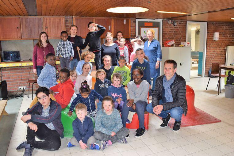Meer dan vijftig kinderen hebben hun eerste week van de paasvakantie doorgebracht in de gemeenteschool Blokbos in Lot.