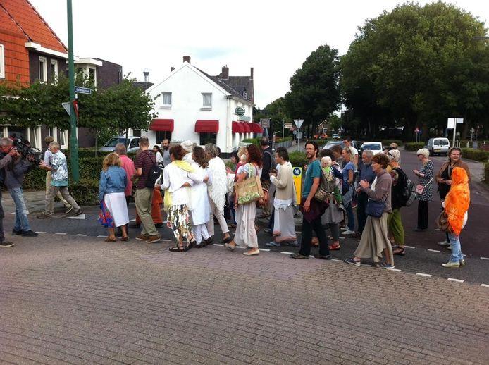 Spirituele stoet in Berghem