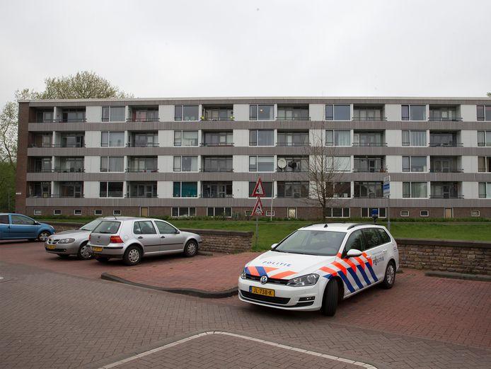 Een flat aan de Beethovenlaan in Doetinchem.