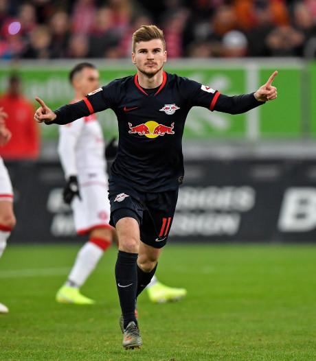 RB Leipzig voorlopig aan kop na zesde zege op rij