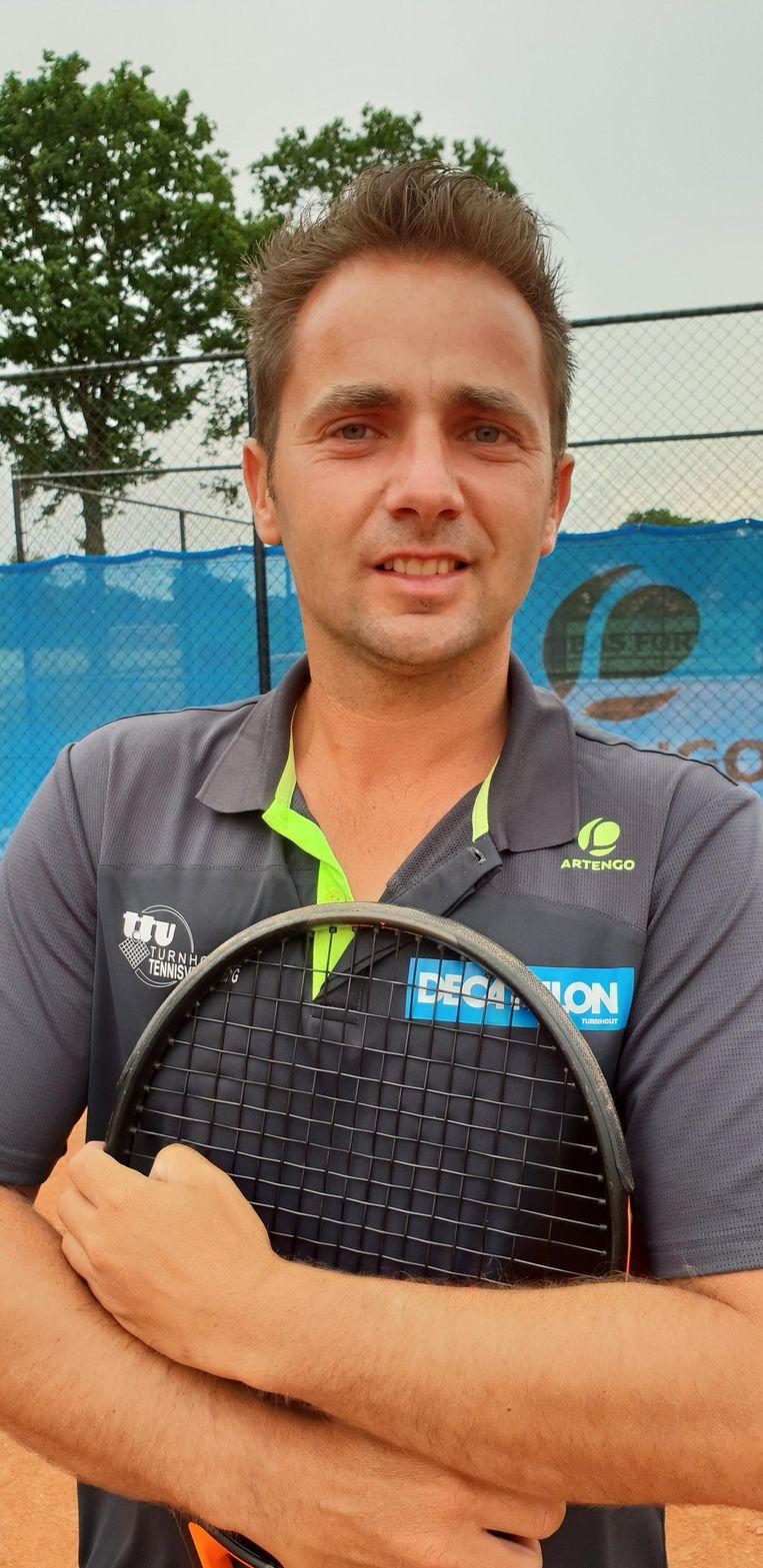 Tom Baten van Top Tennis Team.