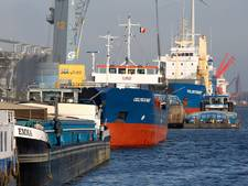 Boete foute liggers in haven Terneuzen
