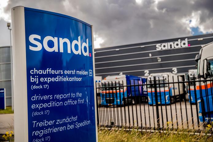 Sandd is een postbedrijf in Nederland. Het hoofdkantoor staat in Apeldoorn. De onderneming richt zich op de bezorging van geadresseerd drukwerk, zoals transactiepost, direct mail, tijdschriften en buspakjes. - Foto Rob Voss - www.robvoss.nl