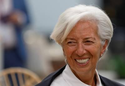 Lagarde neemt ontslag als IMF-directeur