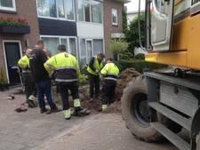 Gasleiding lek bij werkzaamheden in Schijndel