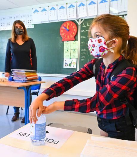 Une première en Belgique: la commune de Courcelles impose le masque à l'école dès 6 ans