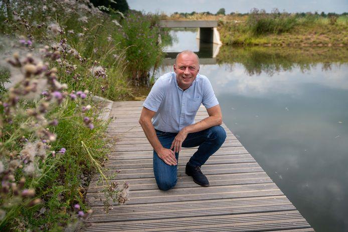 Jan Willem Kamerman poseert in een fraai stukje Park Lingezegen.