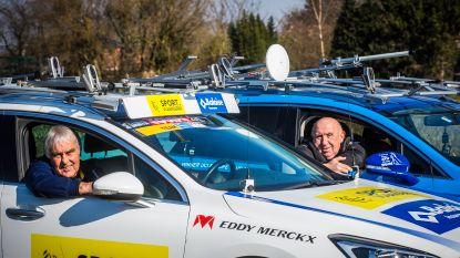 """Walter Planckaert & Hilaire Van der Schueren vanaf volgend jaar te oud voor de volgwagen: """"We worden 70 en plots kunnen we niet meer sturen?"""""""