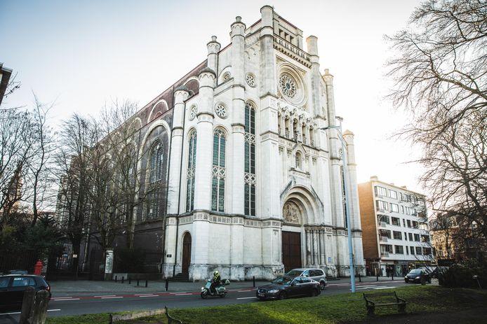 De Sint-Annakerk in Gent