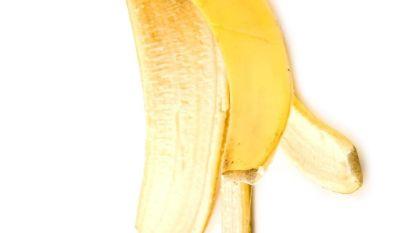 Kan een bananenschil blauwe plekken wegwerken?