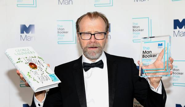 George Saunders wint Man Booker Prize