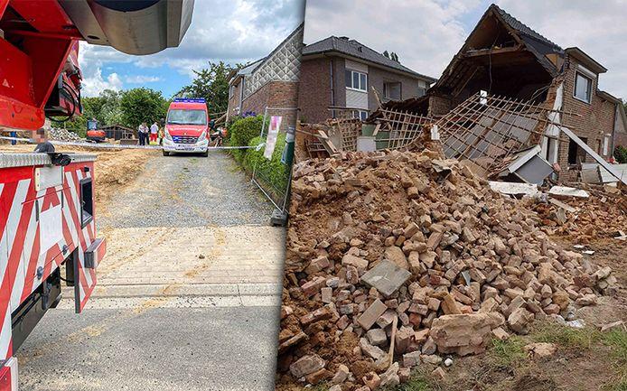 Het incident gebeurde in de Keerstraat, aan twee woningen die van de straatkant verwijderd staan.