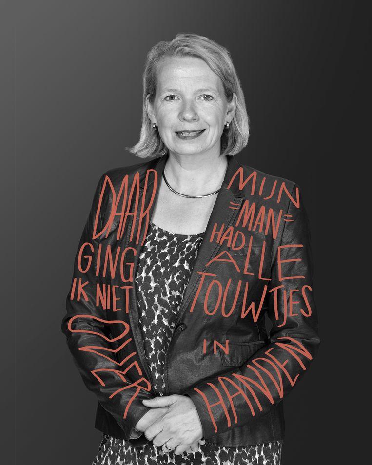 VVD-senator Anne-Will Duthler moest van het partijbestuur de Eerste Kamerfractie verlaten, omdat ze zich als senator schuldig had gemaakt aan belangenverstrengeling met haar commerciële adviesbureau. Beeld HH / Illustratie Matteo Bal
