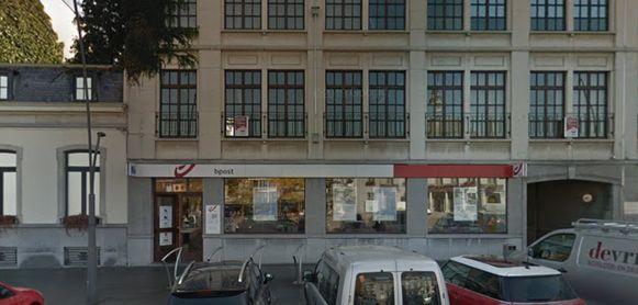 Het postkantoor van Ronse op de Grote Markt verhuist wellicht naar de Wijnstraat.