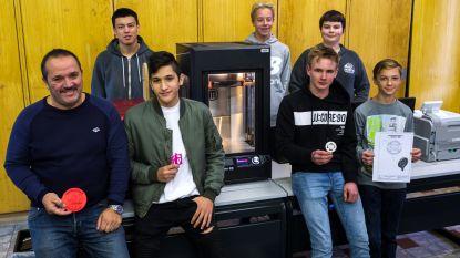 PTS-leerlingen maken Dodentochtlogo in 3D