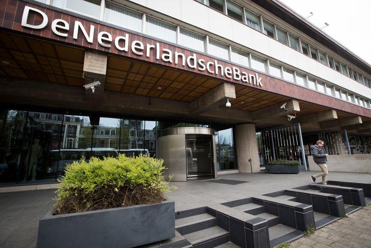 Exterieur van De Nederlandsche Bank.  Beeld ANP/JEROEN JUMELET