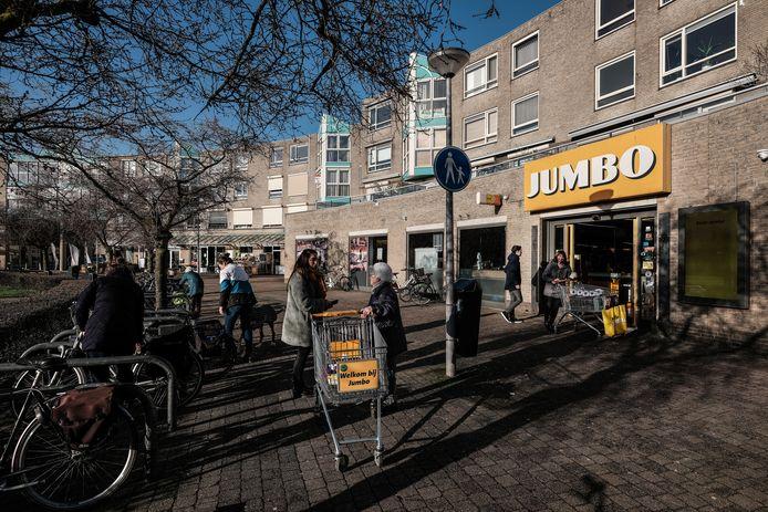 De Jumbo aan het Eilandplein in Duiven.