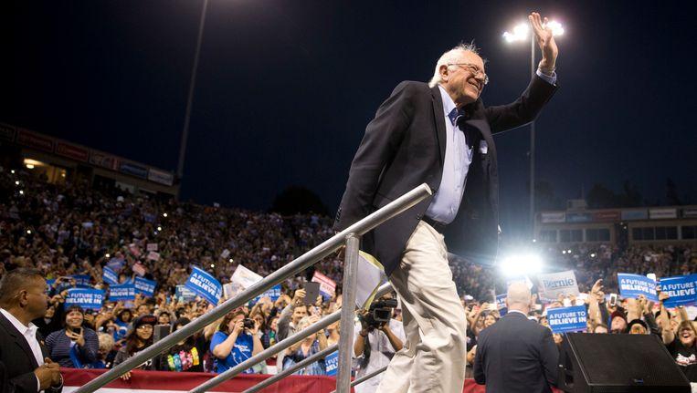 Bernie Sanders Beeld ap
