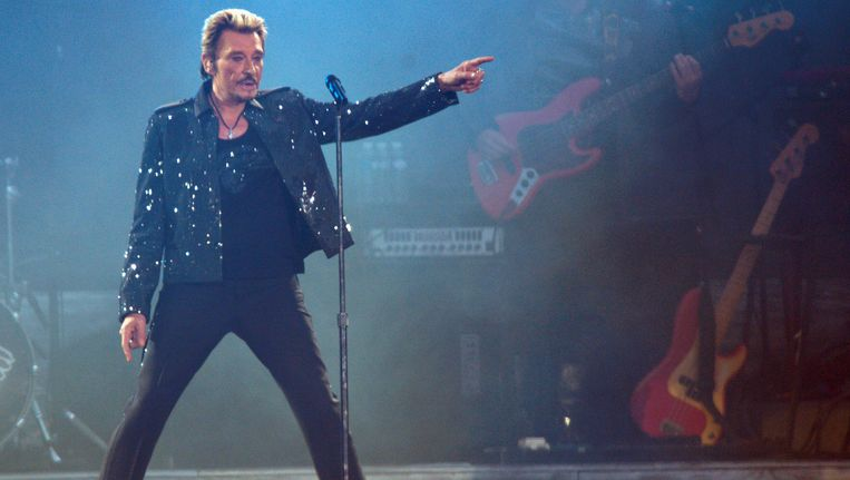 Johnny Hallyday in 2009. Beeld reuters