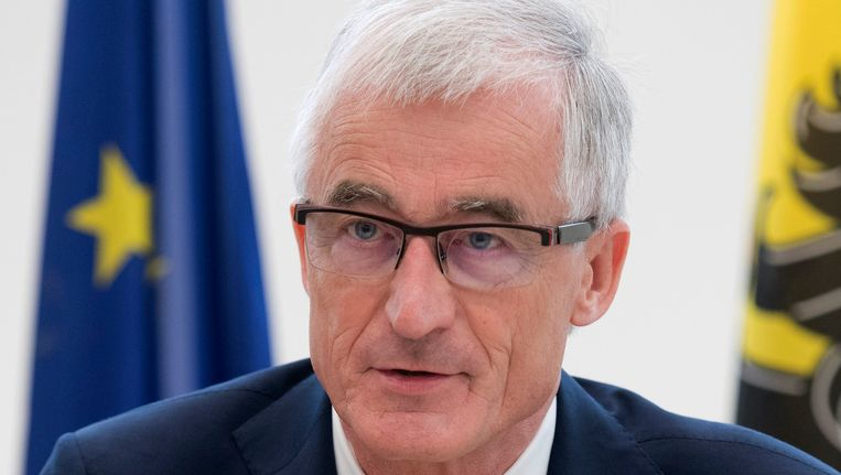 Minister-president Geert Bourgeois.
