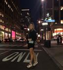 Simona Halep in New York.
