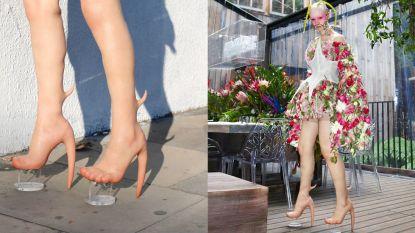Modemerk verrast met peperdure 'huidhakken' en meer ongewone creaties