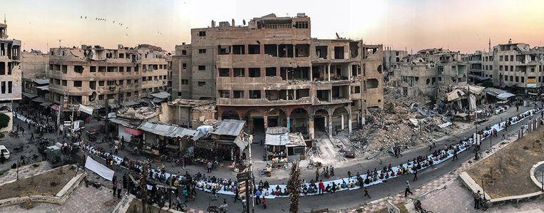 Iftar Amongst the Ruins - Mohammed Badra (Syrië)