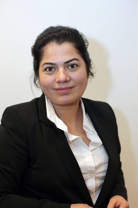 Roos Rahimi van het CNV.