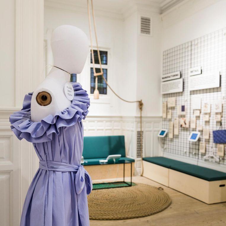 Het Fashion for Good Museum op het Rokin Beeld Tammy van Nerum