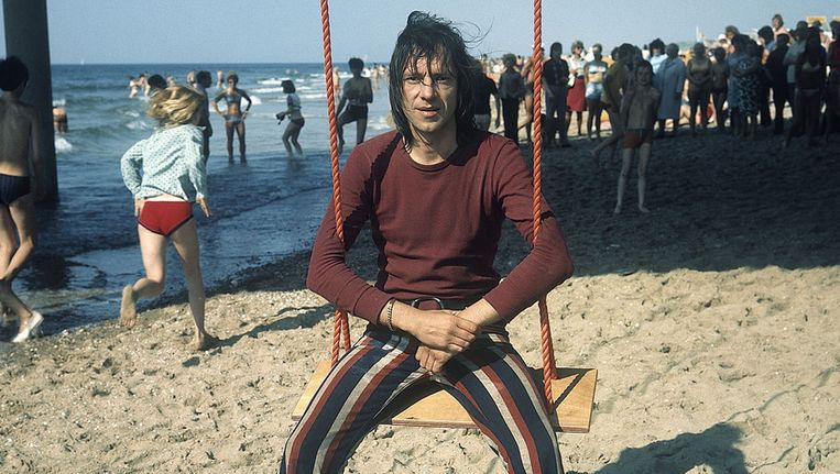 Ramses Shaffy in 1971 Beeld ANP