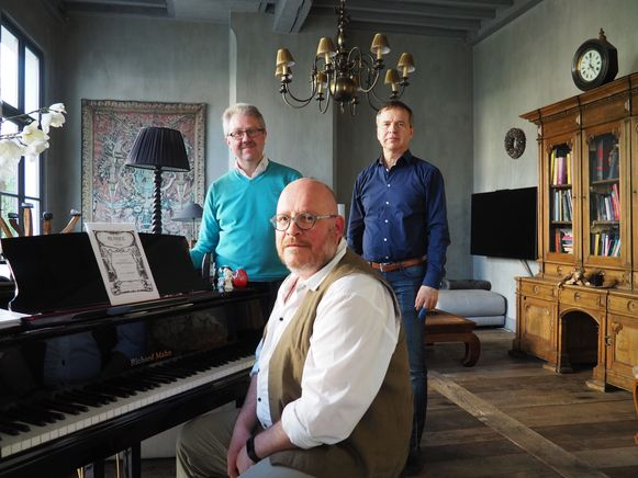 V.l.n.r.: Patrick De Greef, Geert Synnave en Bart Van der Vorst.