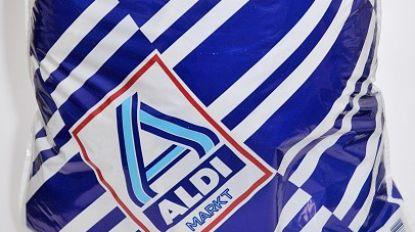 Aldi stopt verkoop van iconische wit-blauwe plastic zak