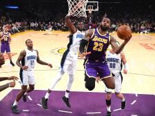 Orlando Magic maakt einde aan zegereeks LA Lakers