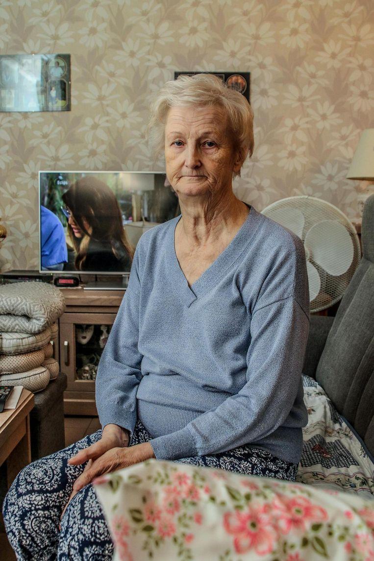 """""""Ik heb door die zaak een vreselijke 'klop' gekregen"""", zegt Andrée Braem."""