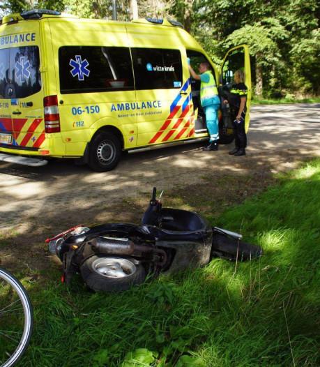 Twee gewonden bij botsing tussen fiets en snorscooter in Doetinchem