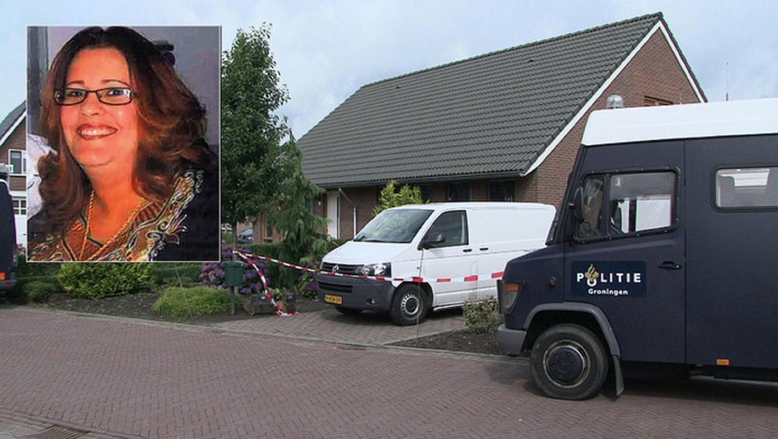 De technische recherche deed grootschalig onderzoek in de woning en de tuin van de vermiste Ilham Benchelh.