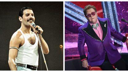 """Stervende Freddie Mercury gaf Elton John een bijzonder cadeau: """"44 jaar oud, maar ik huilde als een kind"""""""