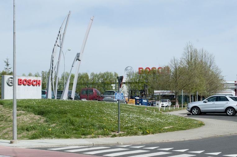 De vestiging van Bosch in Tienen ligt aan de Hamelendreef.